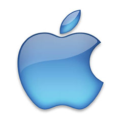logo apple blue Tablets & iPads, South Essex Computer Service & Repair